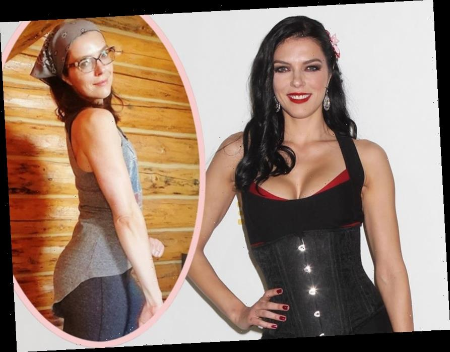 Adrianne Curry Shows Off NEW Curves After Having Breast Implants Removed