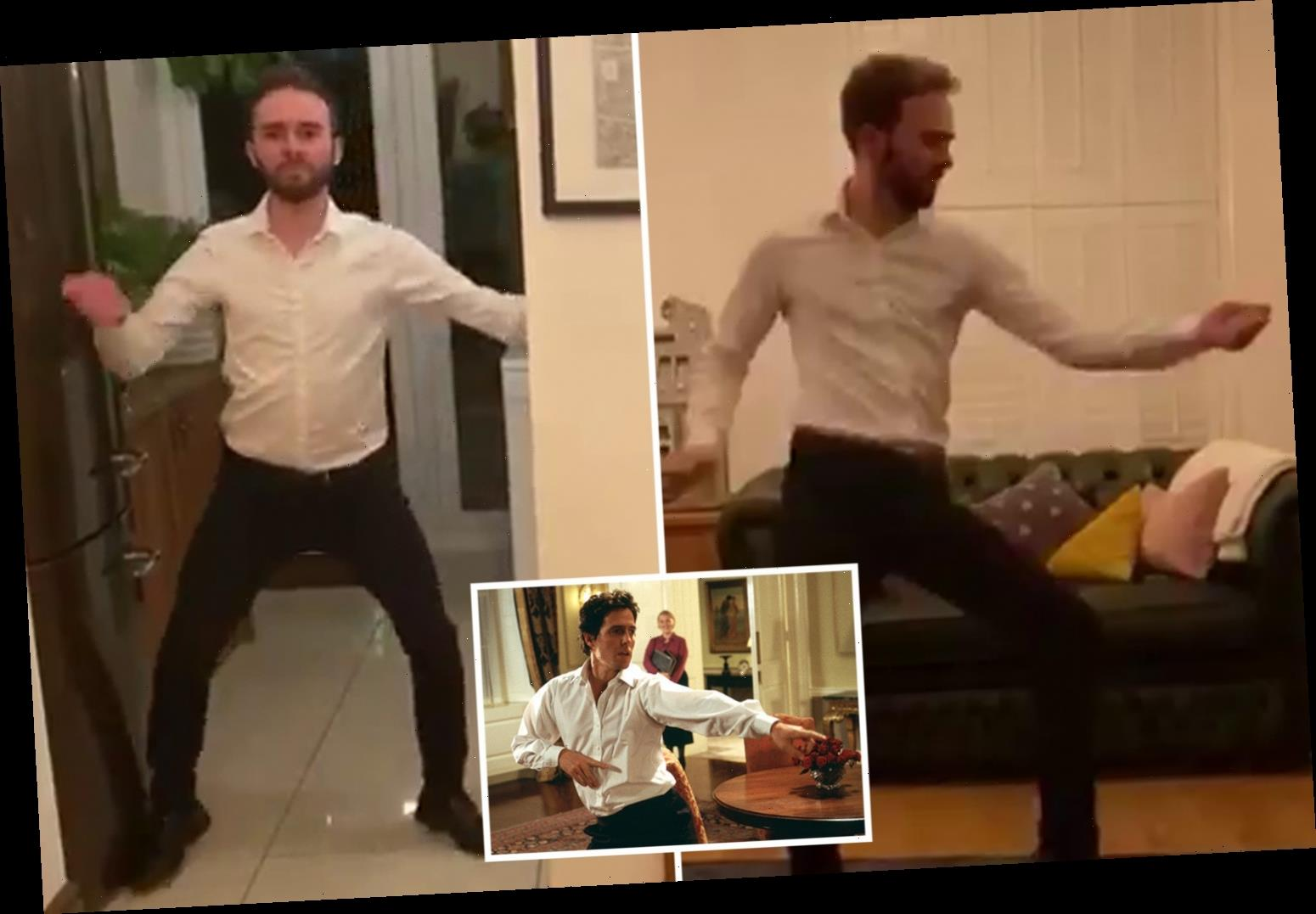 Coronation Street's Jack P Shepherd recreates Love Actually dance – and it's absolutely perfect – The Sun