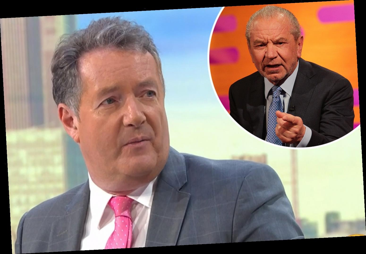 Piers Morgan blasts 'former friend' Lord Sugar again and accuses him of 'spouting nonsense' about coronavirus lockdown – The Sun