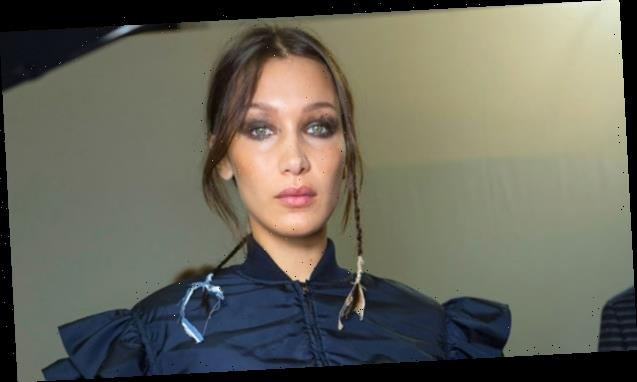 Bella Hadid Gets Down & Dirty In Country Chic Camo While Gardening At PA Farmhouse — Watch