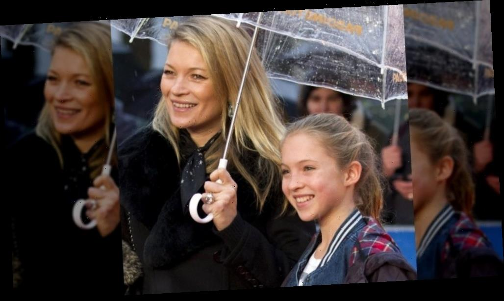 Kate Moss' daughter grew up to be stunning