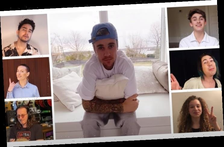 Justin Bieber, Michael Buble Among Canadian Stars Covering 'Lean on Me' for COVID-19 Relief