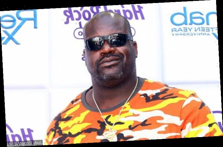 New Couple Alert! Shaquille O'Neal Seen Grabbing Mystery Woman's Boobs in New Photo