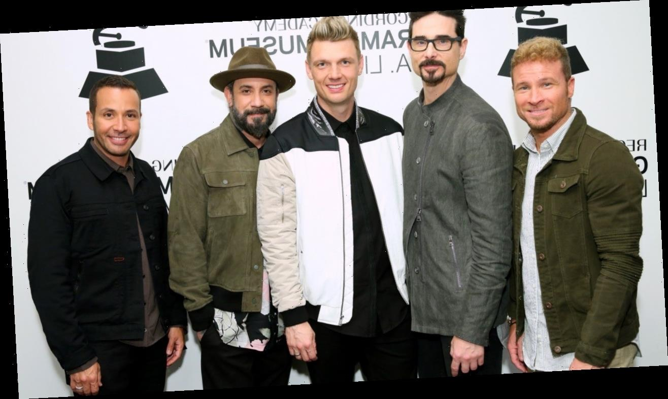 Watch the Backstreet Boys Get an Epic Surprise from Hospital Staff