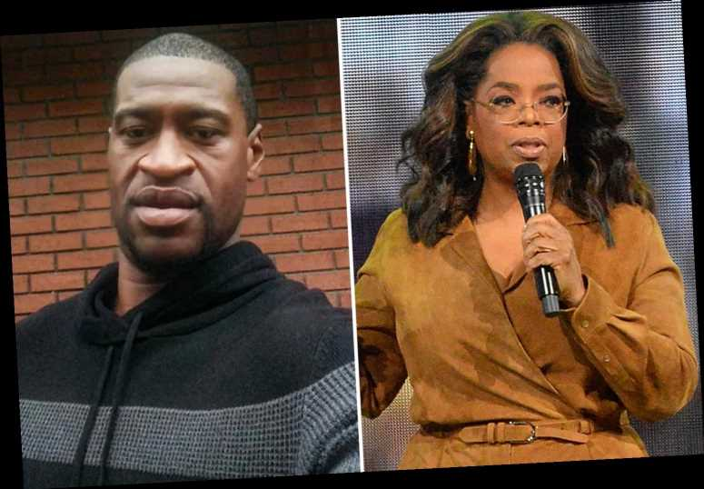 Oprah Winfrey leads the celebrities calling for justice for George Floyd amid furious riots over his killing – The Sun