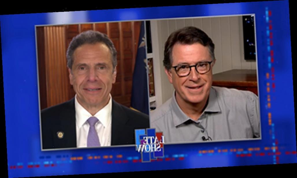 Stephen Colbert And NY Governor Andrew Cuomo Discuss Surprising COVID Statistic On 'A Late Show'