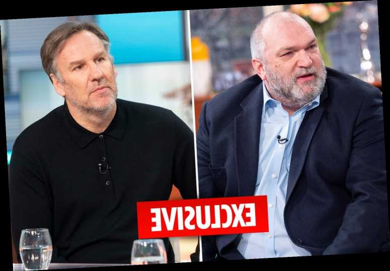 Neil 'Razor' Ruddock threatened to batter Arsenal's Paul Merson after he warned 'stop drinking or die' on Harry's Heroes – The Sun