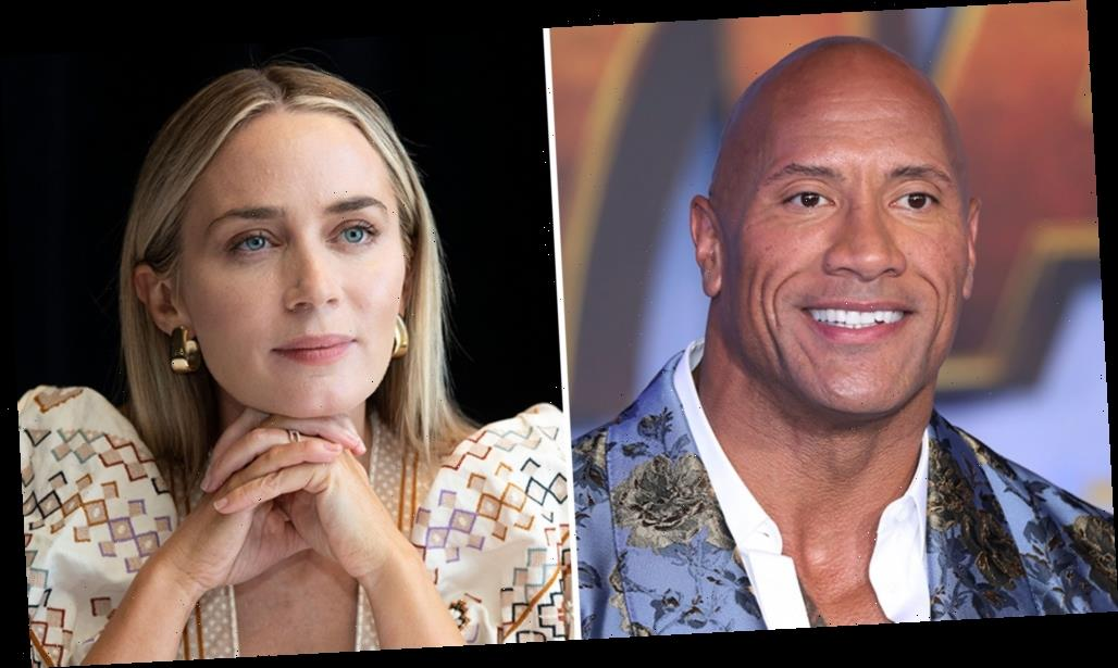 Hot Package: Dwayne Johnson & Emily Blunt In 'Ball And Chain'