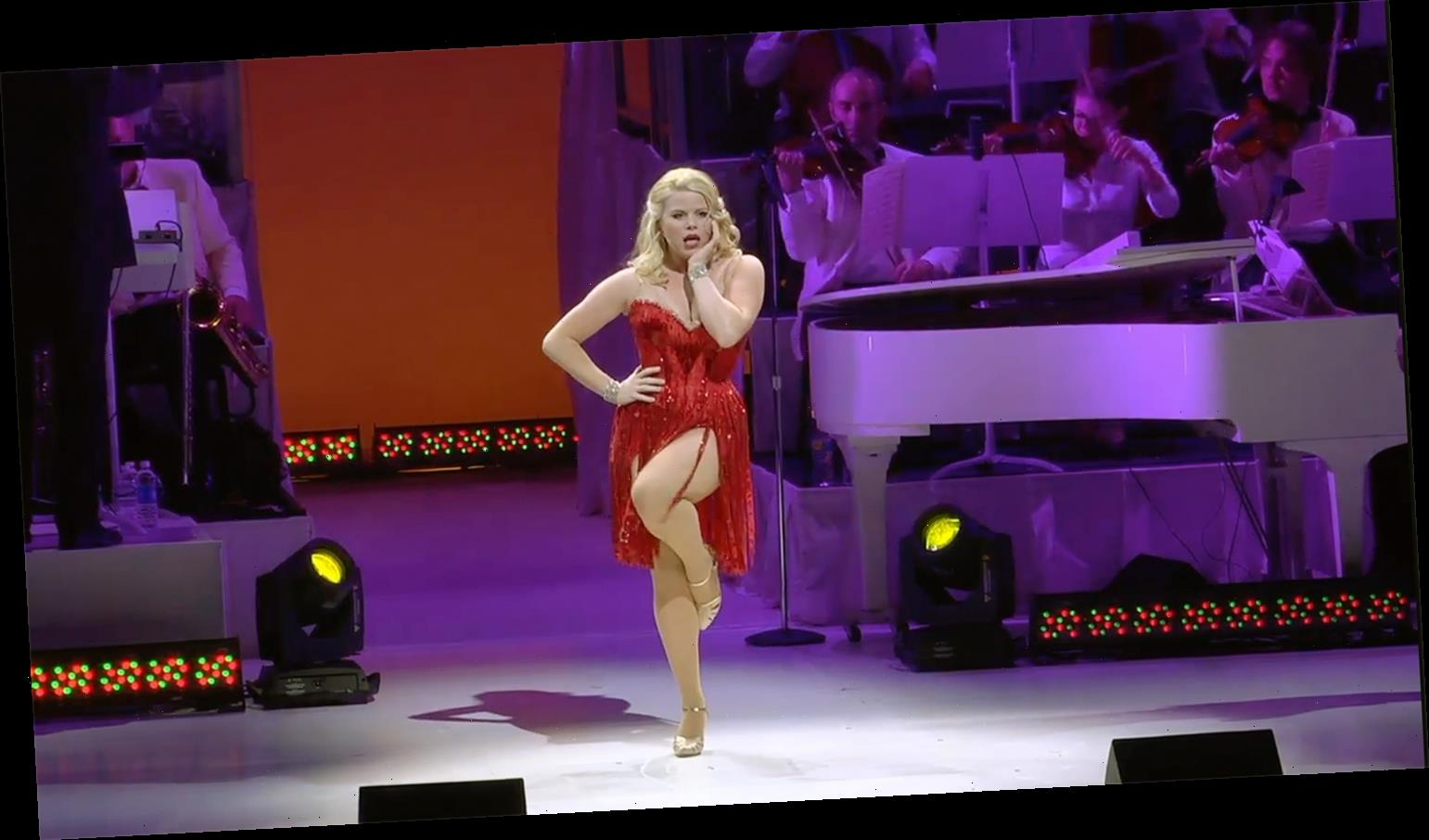 See Smash Star Megan Hilty Perform 'Let's Be Bad' During Bombshell in Concert on Broadway