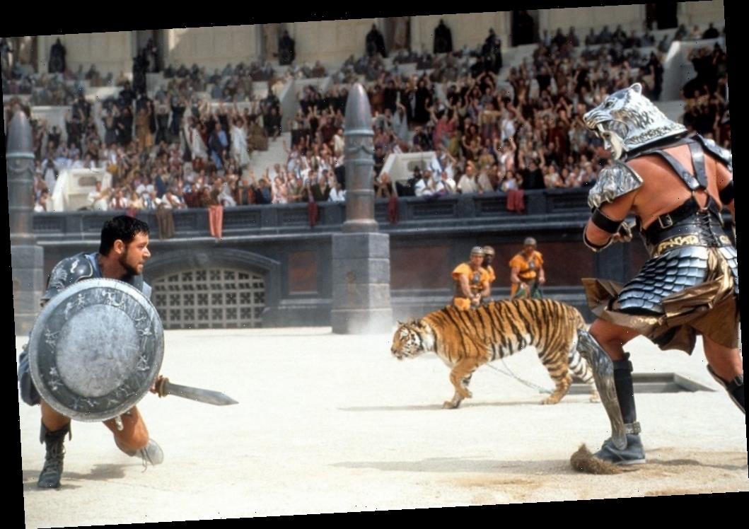 How Russell Crowe Made Sure His Dying Uncle Got to See 'Gladiator'