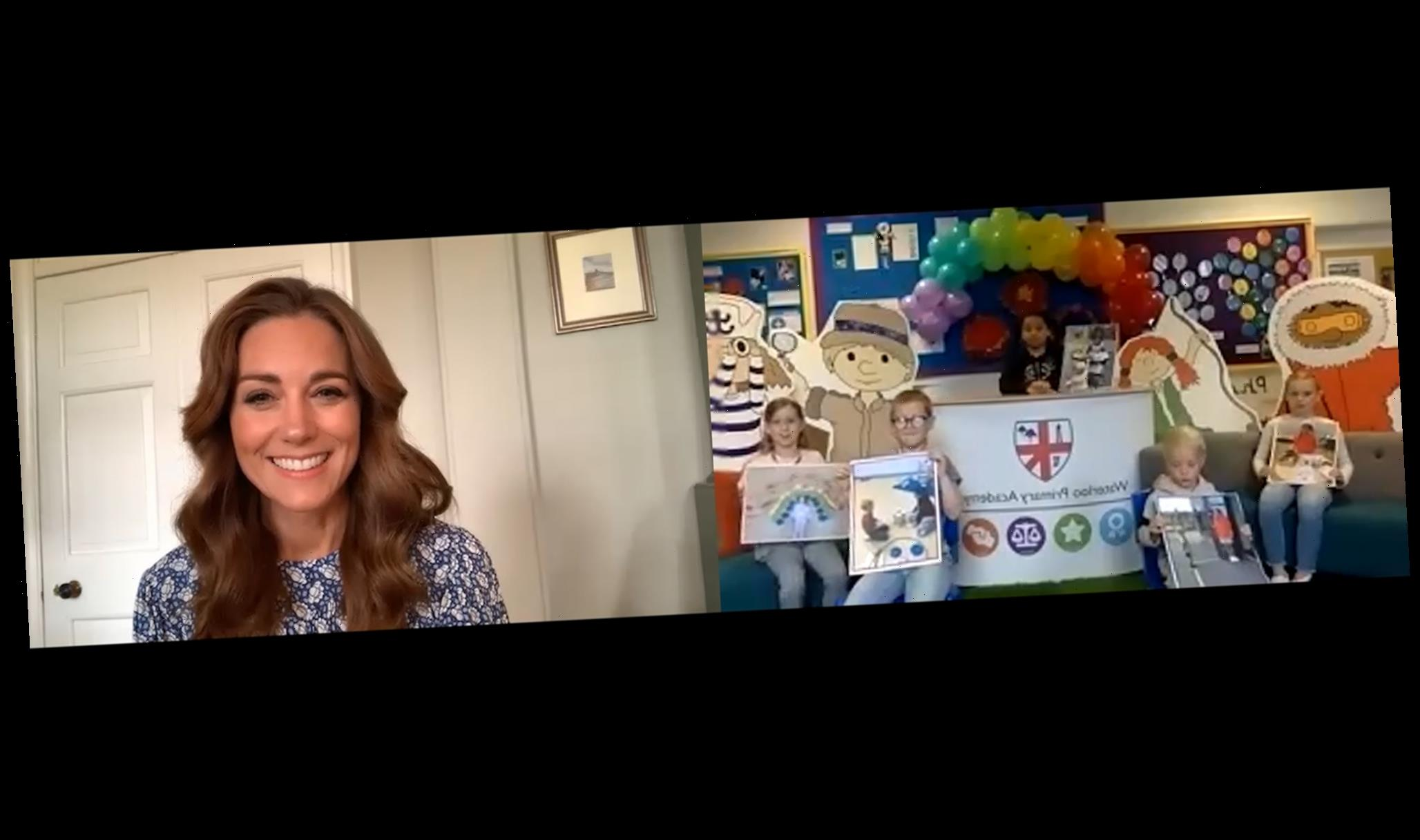 Kate Middleton Talks About the 'Ups and Downs' of Lockdown During Candid Virtual School Assembly
