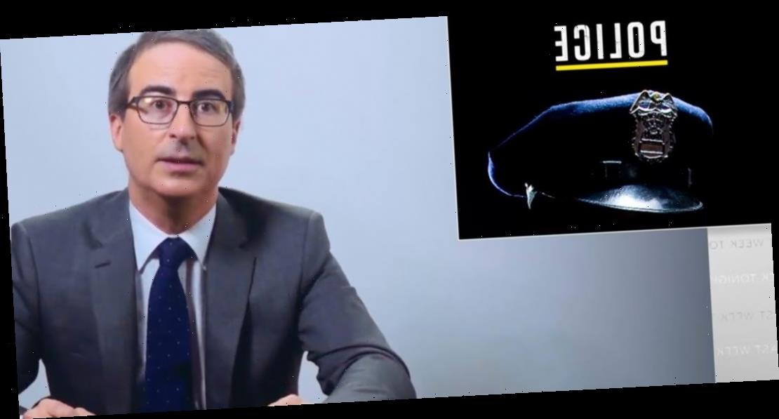 John Oliver Answers All Your 'Defund the Police' Questions