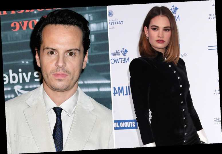 Lily James joins Fleabag's Andrew Scott in BBC drama The Pursuit of Love amid Chris Evans 'romance'