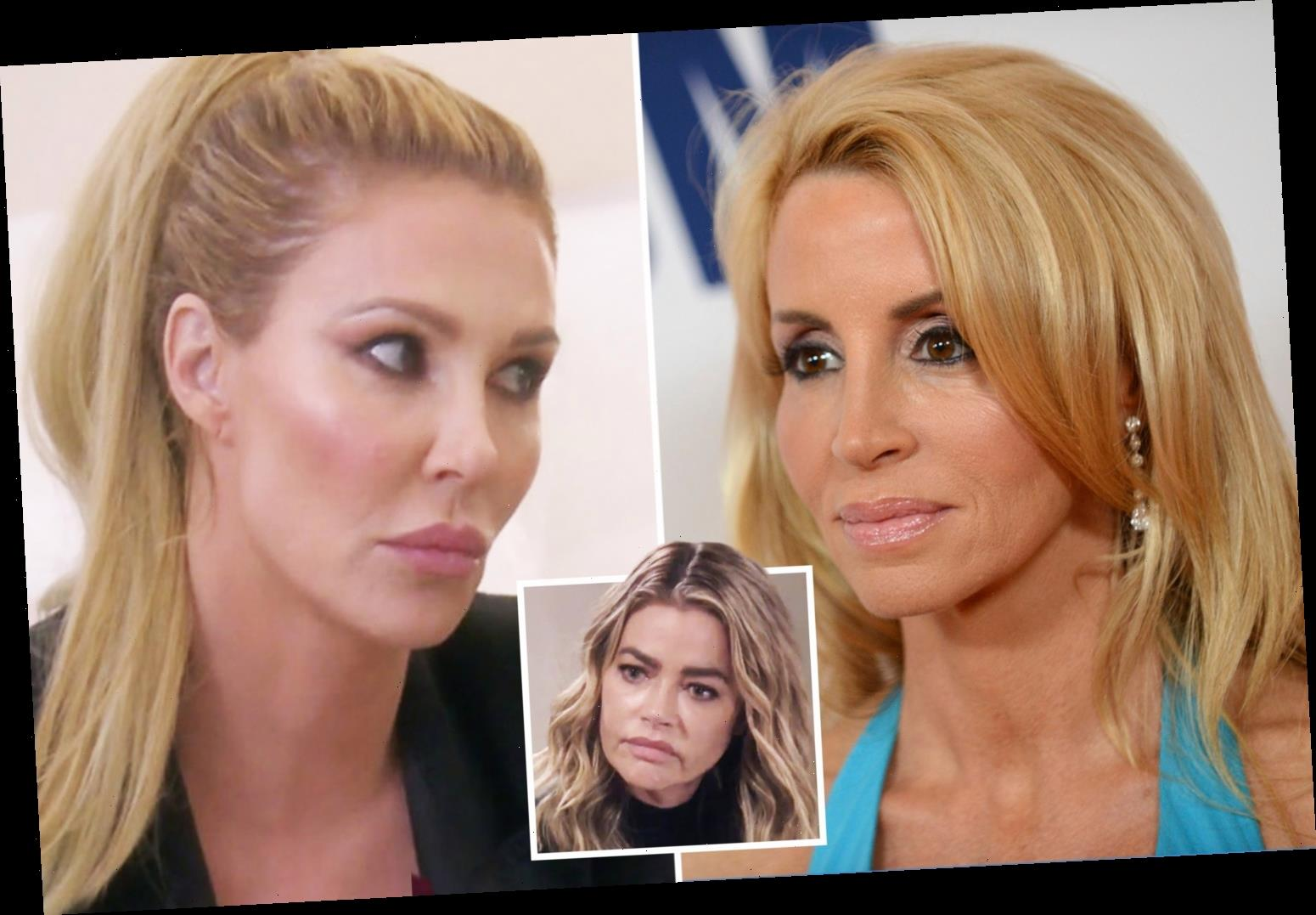 RHOBH's Camille Grammer claims Brandi Glanville 'rehearsed' claims she hooked up with Denise Richards in 'fake' scene – The Sun