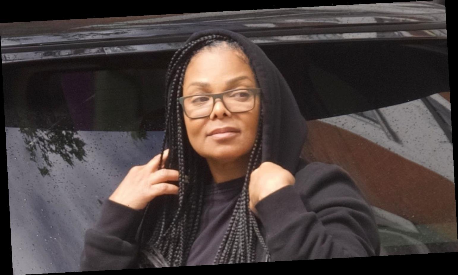 Janet Jackson Spends the Afternoon Running Errands in London