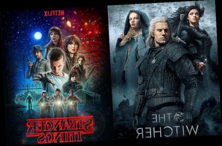 'The Witcher' and 'Stranger Things' Land Top Spots as Netflix's Most Viewed Original Shows