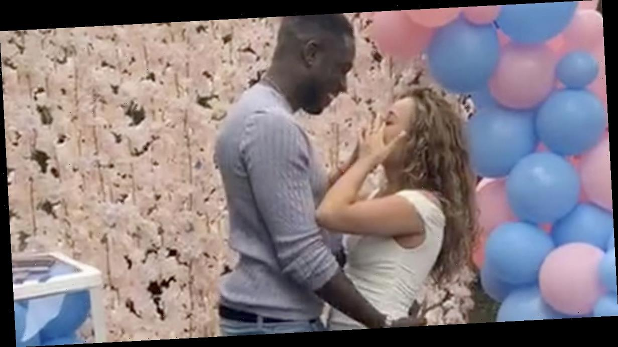Marcel Sommerville proposes to girlfriend after finding out sex of baby