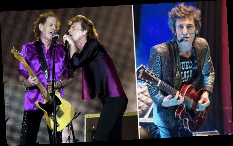 The Rolling Stones NEW music teased by Ronnie Wood PLUS hopes of 2021 tour return