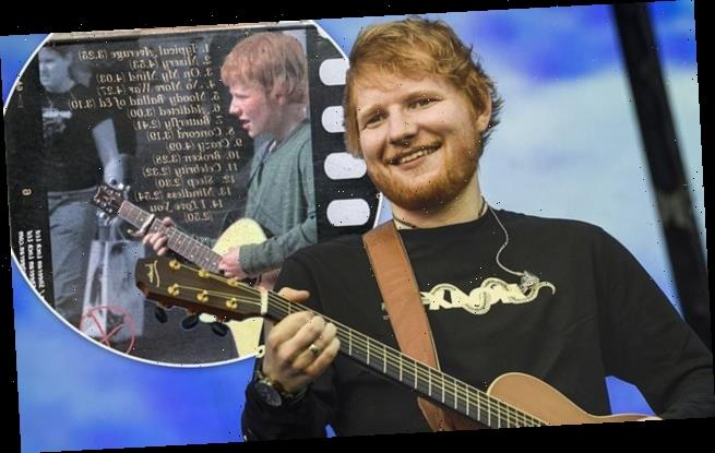 Ed Sheeran's first album, made when he was 13, goes up for auction