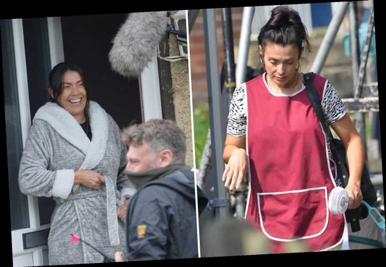 Kym Marsh shoots first acting role since Coronation Street on Kay Mellor's The Syndicate