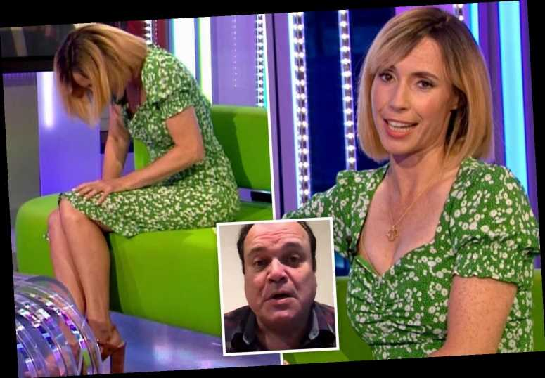 The One Show's Alex Jones red-faced after accidentally calling EastEnders' Shaun Williamson 'Barry' in awkward blunder