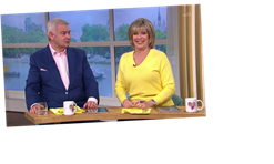 This Morning fans stunned as Eamonn Holmes says he's 'fully erect' while talking to wife Ruth Langsford