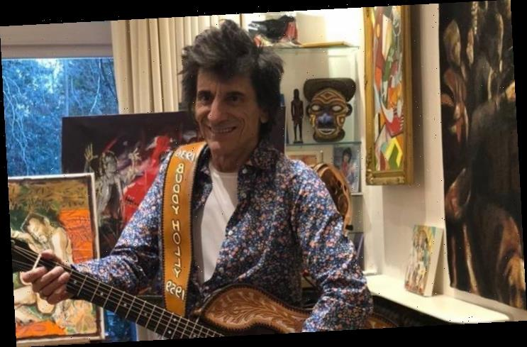 Ronnie Wood Angry as Rolling Stones Album and Tour Get Delayed Due to Covid-19