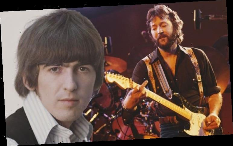 The Beatles: George Harrison CONVINCED Eric Clapton to make rare appearance in song