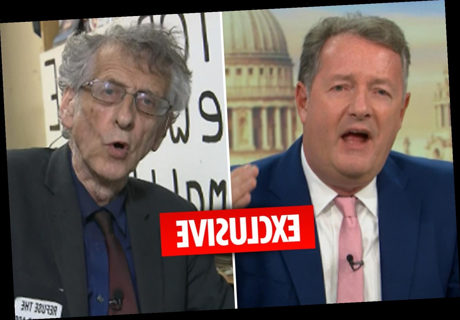 GMB hit with 128 Ofcom complaints after Piers Morgan's explosive row with coronavirus 'whackjob' denier Piers Corbyn