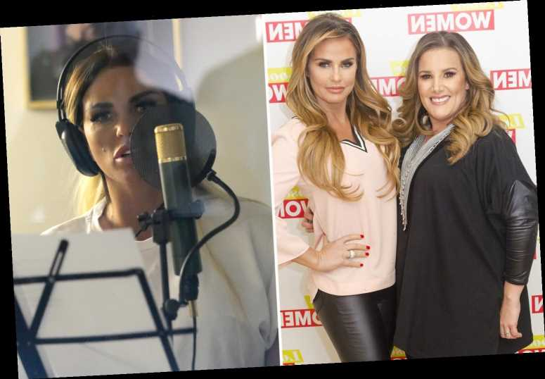 Katie Price plans music comeback as she duets with X Factor winner Sam Bailey