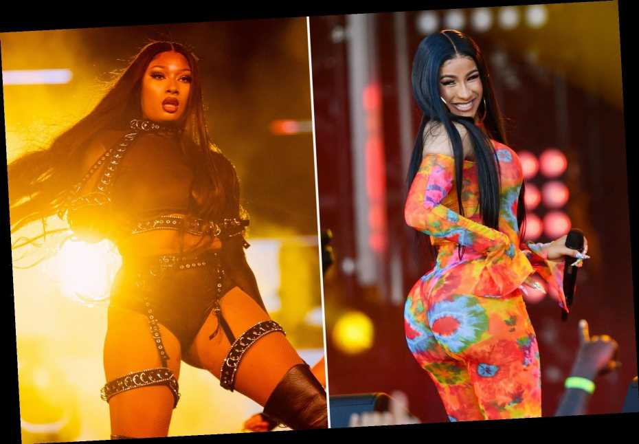 RS Charts: Cardi B, Megan Thee Stallion Hold off Justin Bieber in Race for Number One