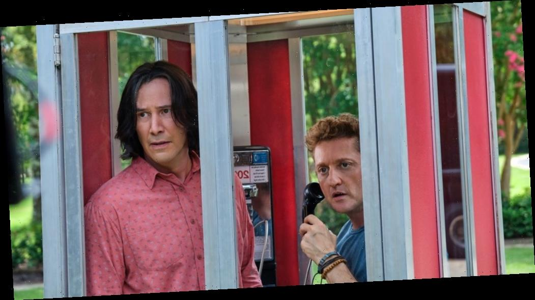Keanu Reeves and Alex Winter Originally Had Butlers in This 'Bill & Ted Face the Music' Scene