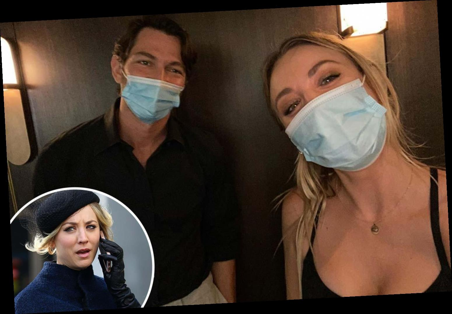 The Big Bang Theory's Kaley Cuoco thrills fans with behind-the-scenes pics as she returns to set of The Flight Attendant