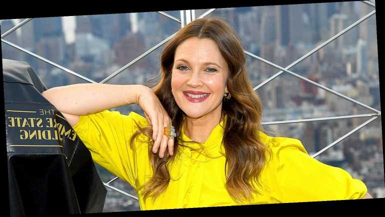 Drew Barrymore Lights Up the Empire State Building in Honor of Her New Talk Show!