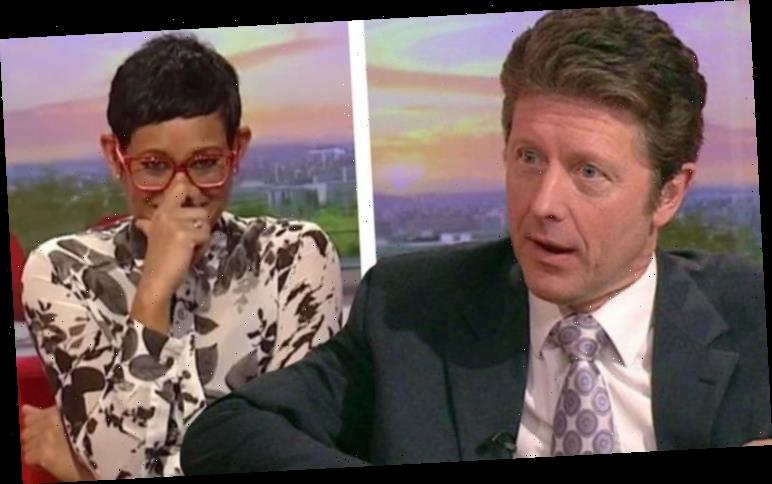 Naga Munchetty: BBC host teases 'highly privileged information' about co-star Charlie