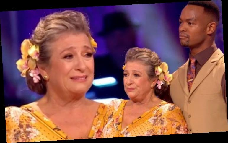 Strictly Come Dancing 2020: Caroline Quentin breaks down in tears after first dance