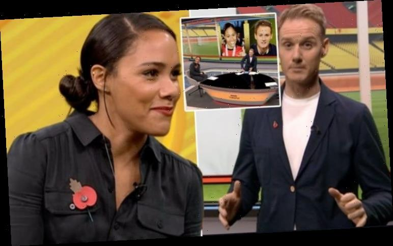 Dan Walker comes under fire by Alex Scott for 'cheeky' throwback 'This a history lesson?'