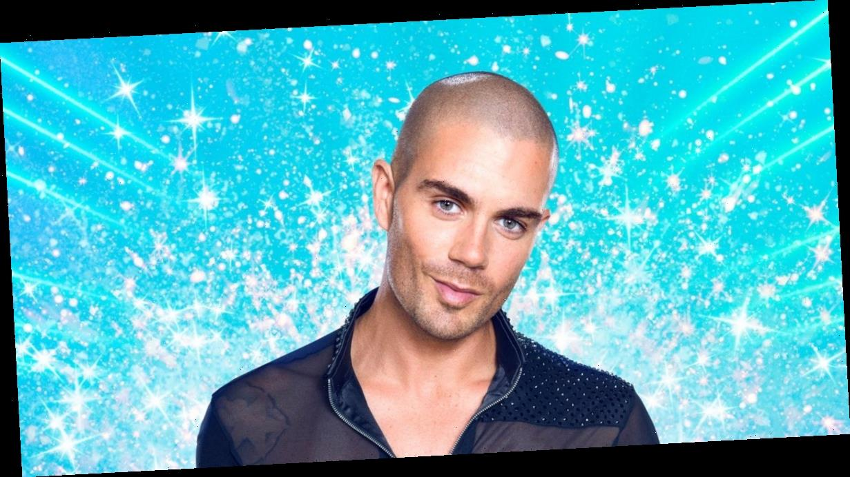 Strictly's Max George addresses 'curse' and talks past crush on Caroline Quentin