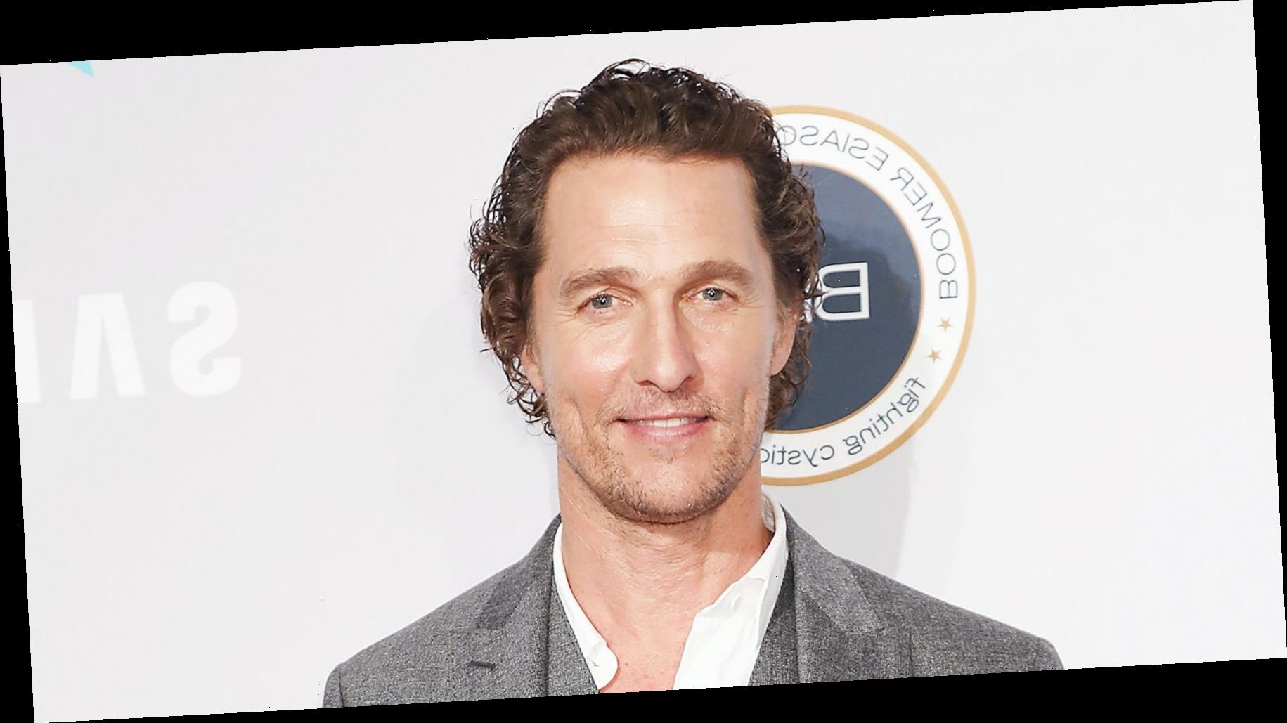10 Wild Things We Learned About Matthew McConaughey in His New Book