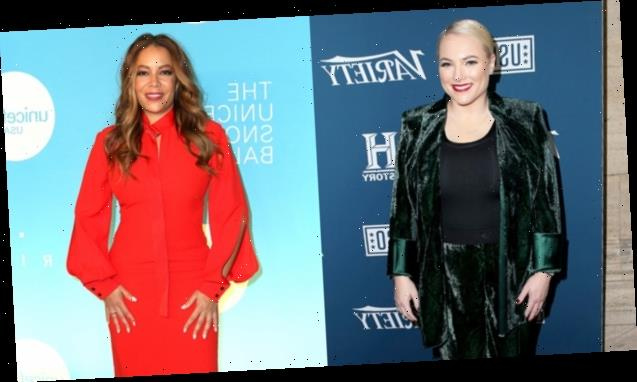 Meghan McCain Reveals She Asked Sunny Hostin 'To Pray For' Her Privates During Labor