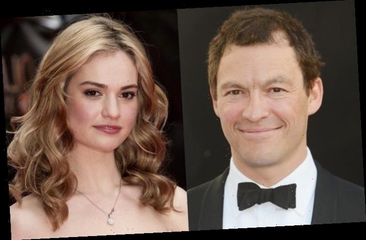 Dominic West Cheating on Wife? The Actor Cozying Up to Lily James in Italy