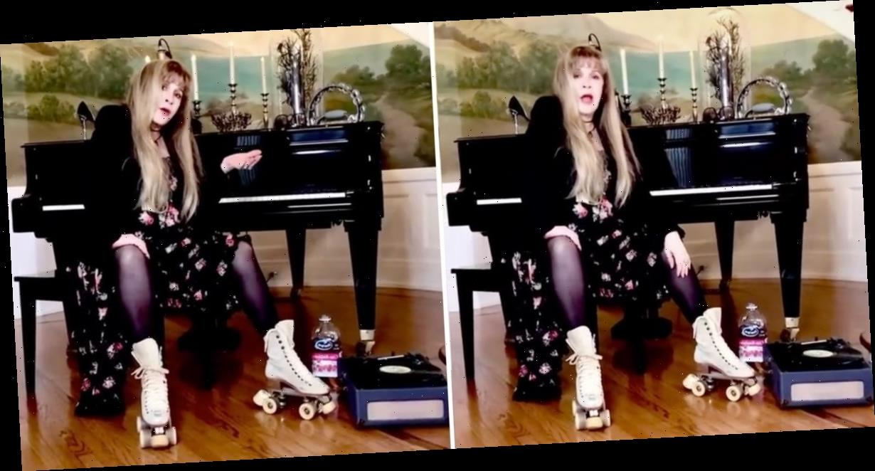 Stevie Nicks participated in the viral 'Cranberry Dreams' trend for her TikTok debut