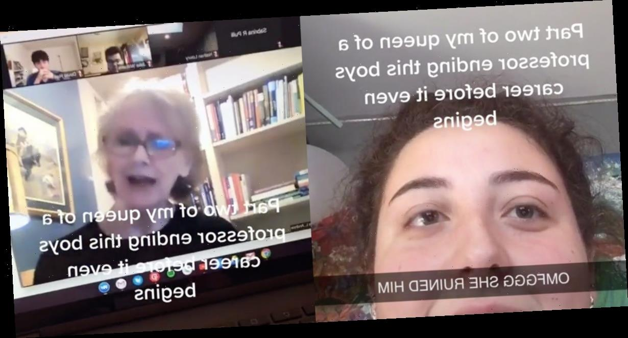 A sexuality professor shut down a 'misogynistic' student in a viral TikTok, saying she has 'more experience sexually than anyone in this class'
