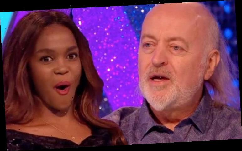 Bill Bailey scolded by Oti Mabuse over Strictly rehearsal secret 'Don't tell them!'