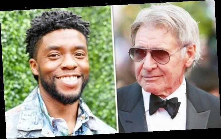 Chadwick Boseman: Black Panther star 'learned tricks of trade from Harrison Ford'