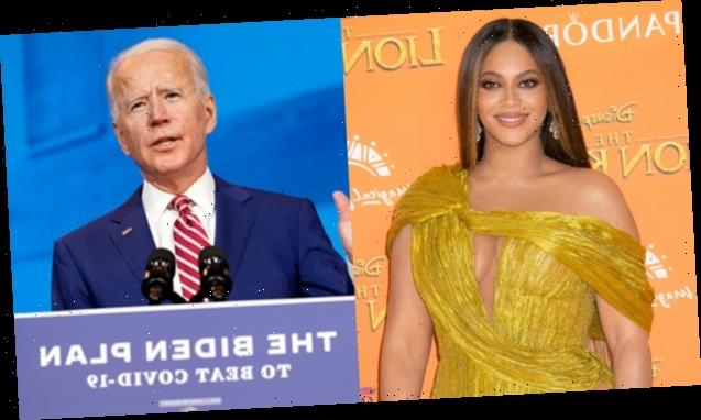 Beyonce Rocks Biden/Harris Mask While Urging Fans To Get Out & Vote Ahead Of Election Day
