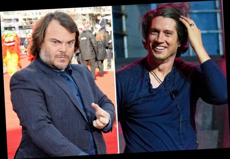 I'm A Celebrity star Vernon Kay's bitter rivalry with Hollywood's Jack Black who he called a 'rude, pig-faced d***'