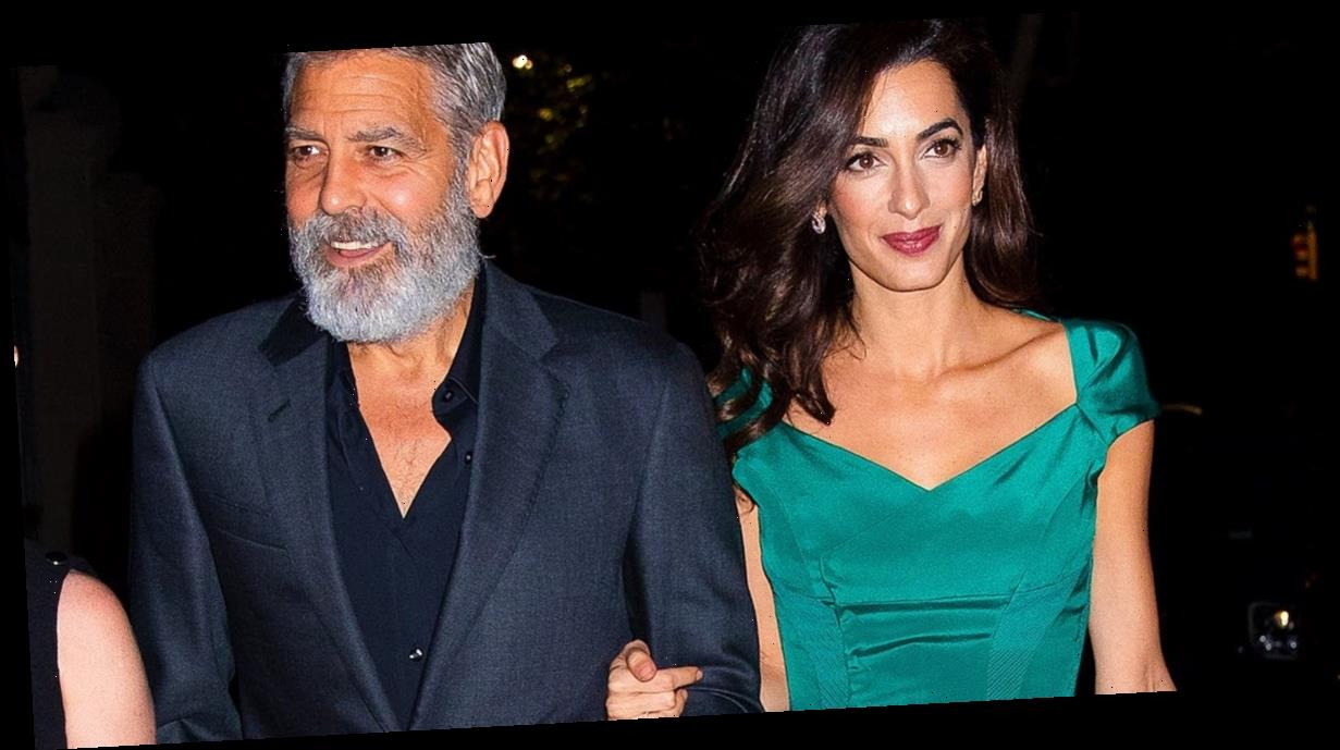 """George Clooney Asked Amal to Marry Him """"Out of the Blue"""""""