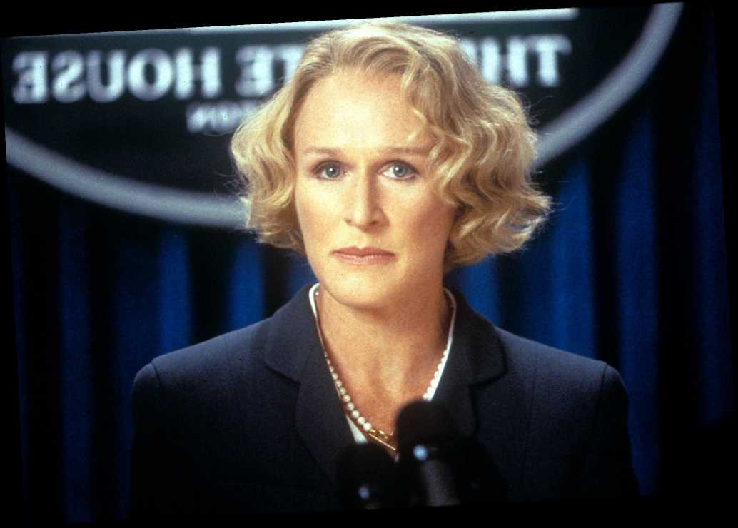 Glenn Close Reveals She Refused to Cry Onscreen Playing a Female Vice President in Air Force One