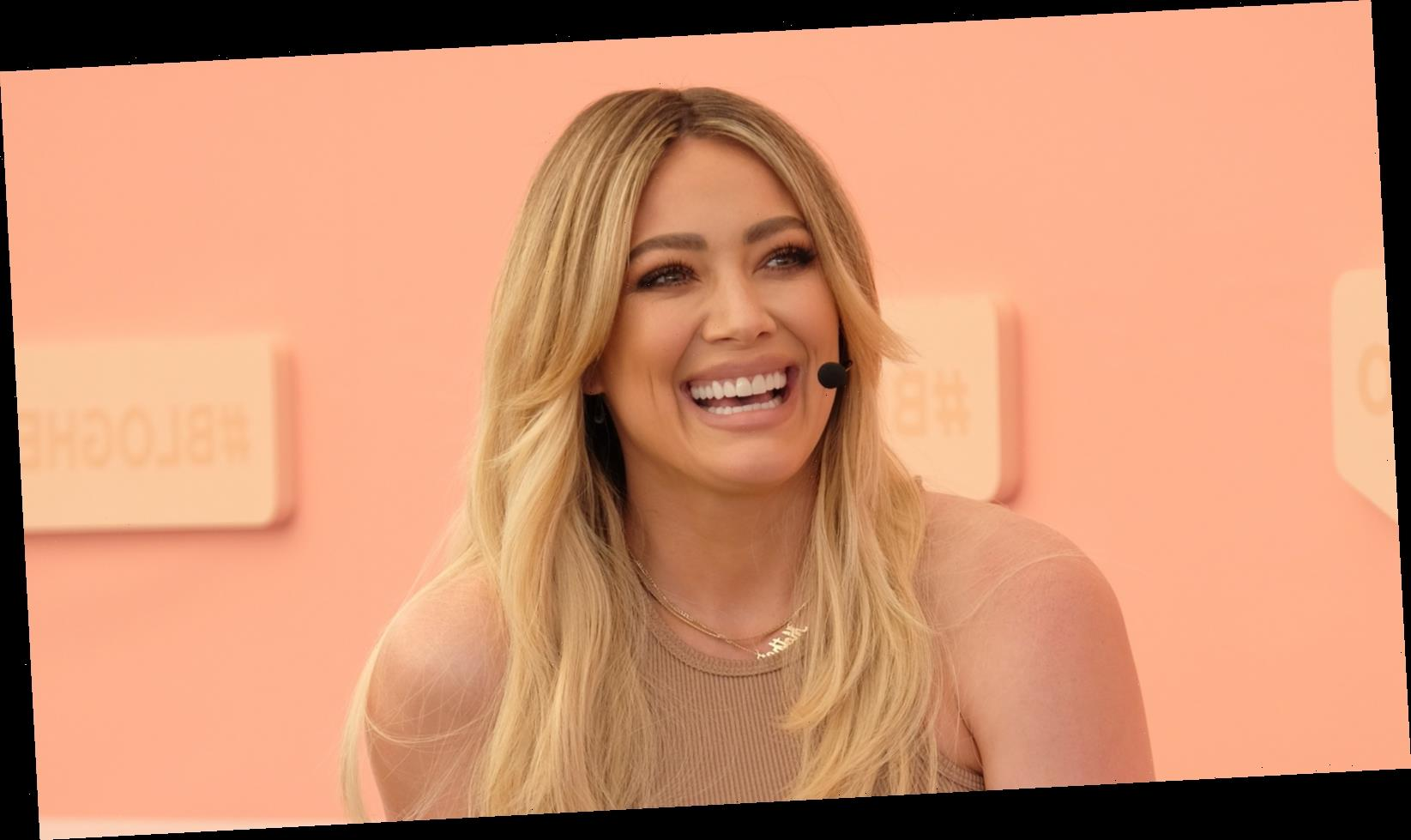 Pregnant Hilary Duff Shares Scary News About COVID Exposure